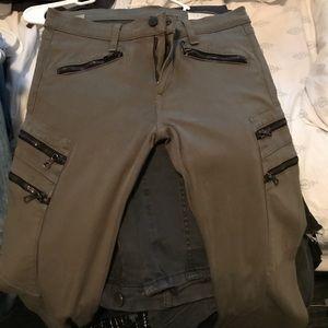 Rag & Bone zipper pants